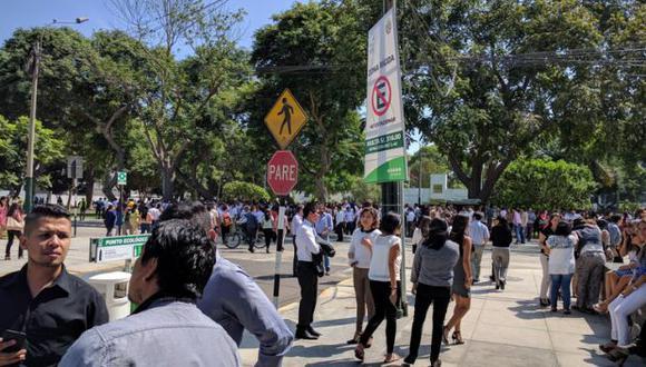 San Isidro: falsa amenaza de bomba movilizó agentes de la UDEX