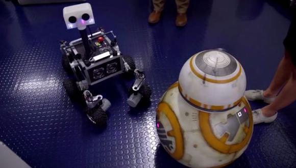 Star Wars: la NASA recordó el día en que BB-8 los visitó