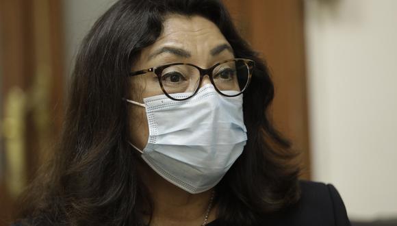 La primera ministra, Violeta Bermúdez, señaló que todavía no conocen la fecha de llegada de las vacunas de Pfizer. (Foto: Archivo GEC)