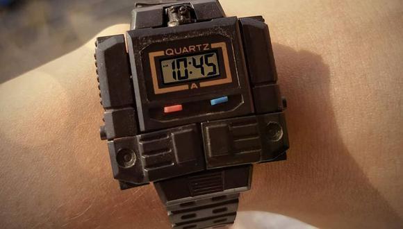 Estos relojes de inicios de los 90 -que también eran un robot-, formaban parte de los sueños adolescentes de una generación. FOTO: Feria del Juguete.