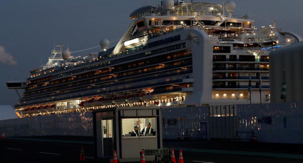 El embajador peruano en Japón, Harold Forsyth, indicó que la empresa del crucero Diamond Princess cubrirá todas las prestaciones de salud de los tripulantes. (Reuters).