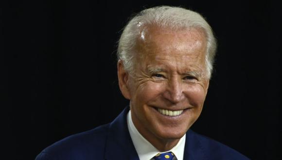 """El candidato presidencial demócrata de Estados Unidos y exvicepresidente Joe Biden habla durante un evento de campaña en el Centro Comunitario William """"Hicks"""" Anderson en Wilmington, Delaware. (Foto: ANDREW CABALLERO-REYNOLDS / AFP)."""