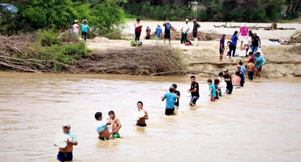 Lambayeque reporta mayor número de damnificados por desastres