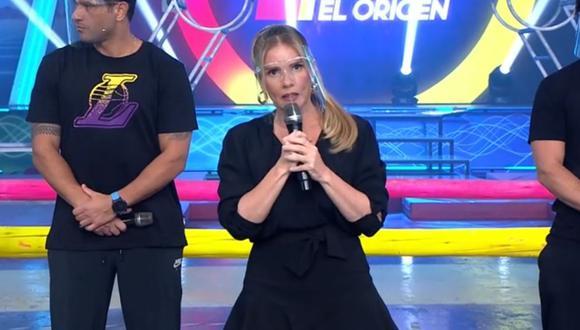 """Johanna San Miguel mostró su enojo por lo sucedido con miembros de """"Esto es guerra"""" el último fin de semana. (Foto: Captura América TV)."""