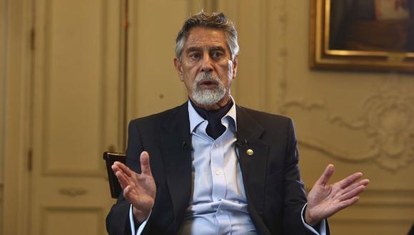El presidente Francisco Sagasti (Alessandro Currarino)