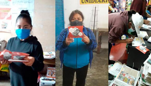 Gracias al trabajo de los canillitas, los lectores de El Comercio, Perú 21, Trome y Correo también recibirán mascarillas KN95. (Foto: EC)