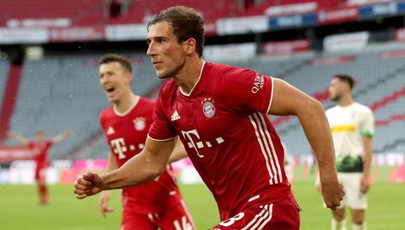 Leon Goretzka culmina su contrato con Bayern de Munich en junio de 2022. (Foto: AFP)