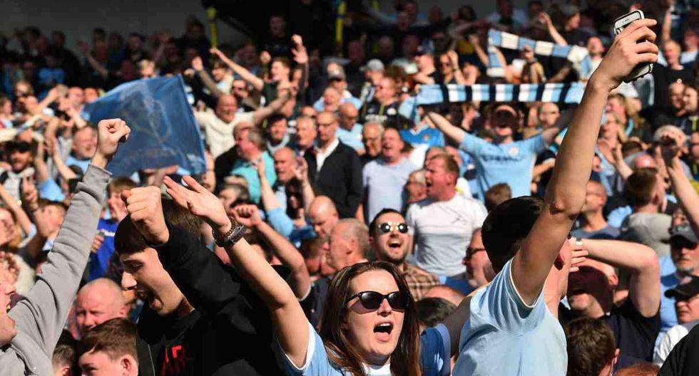 Manchester City campeón de la Premier League temporada 2017-18 (Foto: AP)