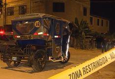 Ventanilla: mototaxista es asesinado por sujetos que se hicieron pasar por pasajeros