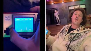 Youtuber Luisito se sorprende al jugar por primera vez Mario Bros