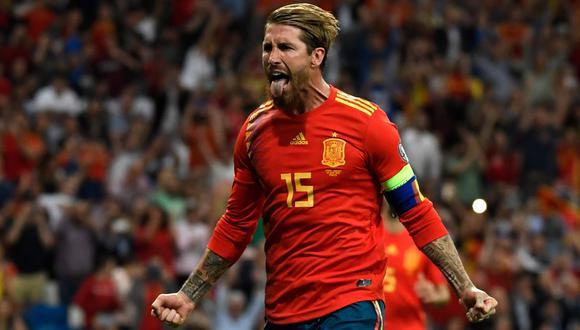 España vs. Suecia: Ramos marcó de penal el 1-0 con potente remate por Eliminatorias a la Euro 2020 | VIDEO. (Foto: AFP)