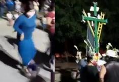 Ica: cierran calle para hacer fiesta en honor a la Cruz del Madero en plena cuarentena   VIDEO