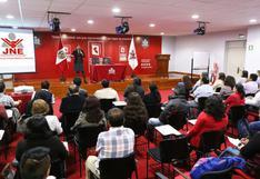 Elecciones 2018: JNE atendió 2.073 casos en audiencias públicas