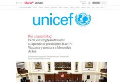 Así reaccionó la prensa internacional ante designación de Mercedes Araoz como presidenta por el Congreso   FOTOS