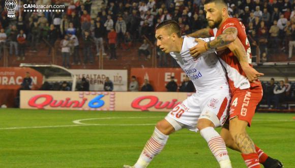Huracán igualó sin goles frente a Argentinos Juniors por la Superliga argentina   Foto: Huracán
