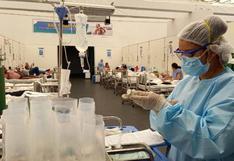 SIS cubrió gastos de más de 450 mil afiliados que fueron hospitalizados por el COVID-19
