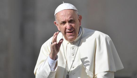 """Papa Francisco celebra el """"valiente"""" acuerdo entre las dos Coreas. (Foto: AFP)"""