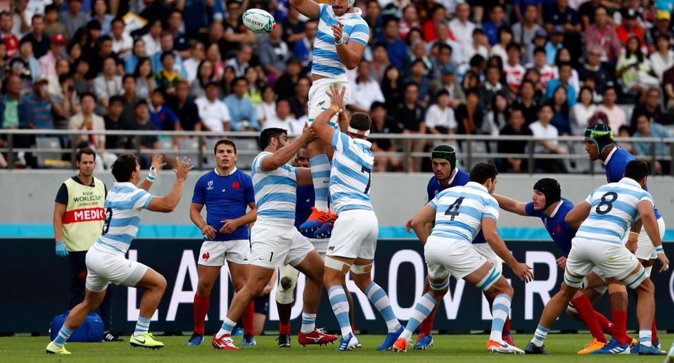 Argentina perdió ante Francia por 23-21 en el primer partido del Mundial de Rugby | Foto: Agencias