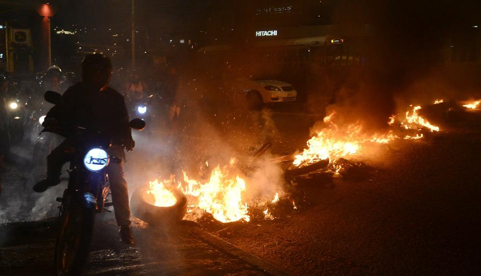 Nuevas protestas contra gobierno de Honduras dejaron dos muertos y 20 heridos. (Foto: AFP)