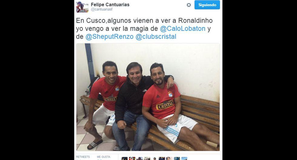 Los memes de Ronaldinho con camiseta de Cienciano [FOTOS] - 3