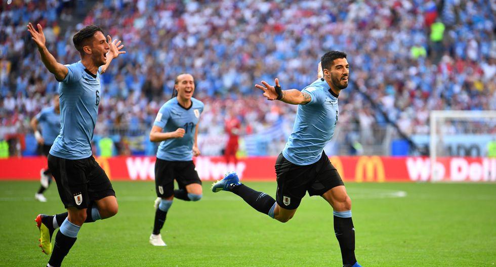 La selección de Uruguay se mide ante los anfitriones (9:00 am. EN VIVO ONLINE por DirecTV) en el Samara Arena por el liderato del grupo A de Rusia 2018. (Foto: AFP)