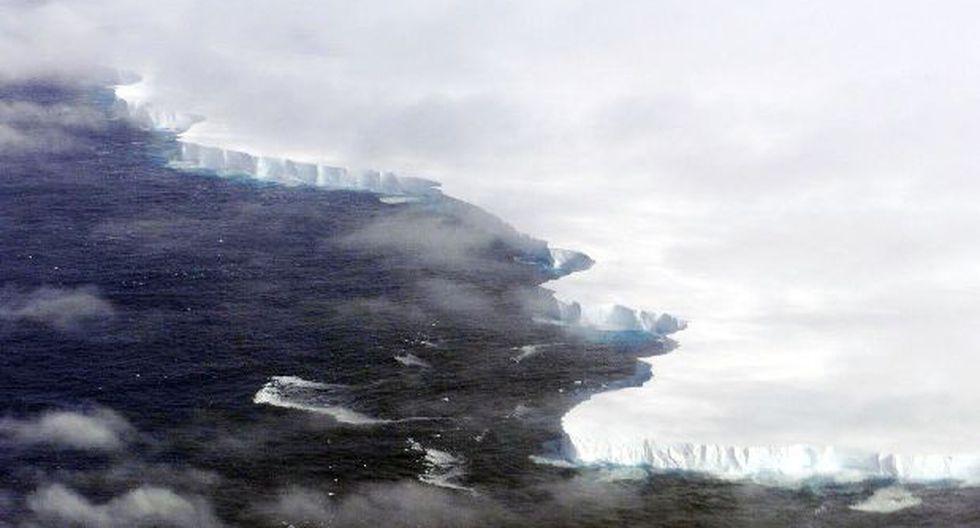 Un inmenso iceberg podría desprenderse de la Antártida