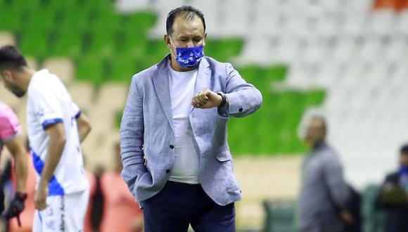 Juan Reynoso fue campeón como jugador en Cruz Azul, en 1997. (Foto: AFP)