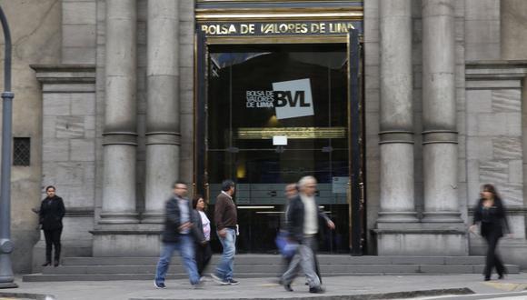 El índice S&P/BVL Perú General cayó hoy un -0.18%. (Foto: GEC)