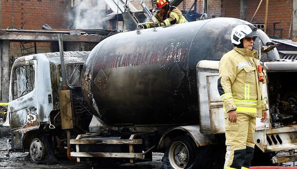 Las cisternas de gas licuado son bombas ambulantes de tiempo, debido a la informalidad y relajación de estándares en el sector. (GEC/Allen Quintana)