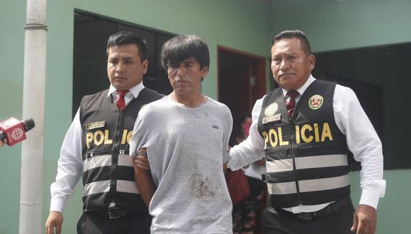 Esteban Huamán Mantilla fue condenado a las 24 horas luego de haber sido capturado en flagrancia por la Policía. El delito imputado fue contra la vida, el cuerpo y la salud – homicidio calificado por ferocidad, en agravio de Paola Peralta.