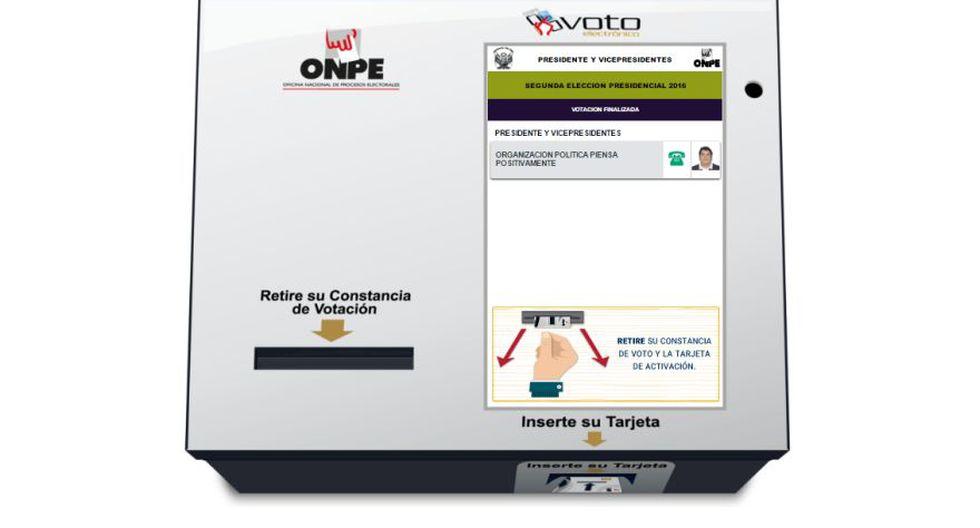 ONPE permite practicar el voto electrónico vía web - 6