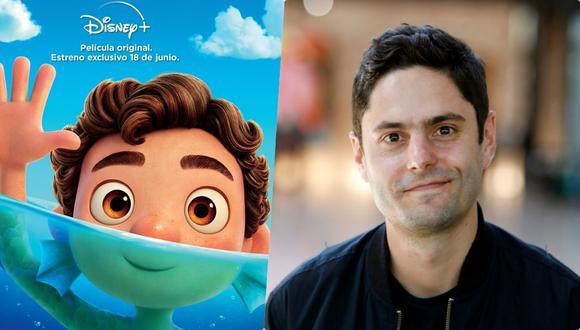 """La película """"Luca"""" narra la historia de dos monstruos marinos, Luca y Alberto, quienes al salir del agua, se convierten en humanos. La cinta contó con el trabajo del colombiano Luis Uribe como parte del equipo de animación. (Foto: Disney)"""
