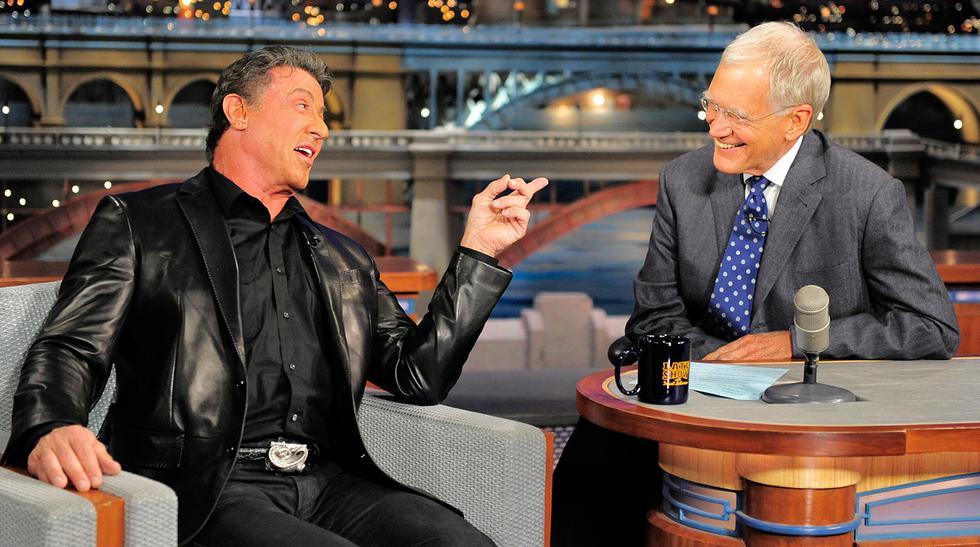 David Letterman: las estrellas que pasaron por su show (FOTOS) - 1