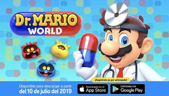 Dr. Mario World es un videojuego de puzzles para dispositivos móviles. (Captura de pantalla)