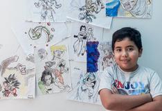 Tiene 10 años, ganó un concurso nacional de cuentos y diseñó un videojuego para cruzar la galaxia