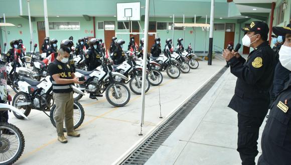Chiclayo: El jefe de la II Macro Región Policial de Lambayeque, general PNP Luis Alberto Vera Llerena, informó que 1011 policías lograron vencer al COVID-19 y retornaron a sus labores. (foto referencial)