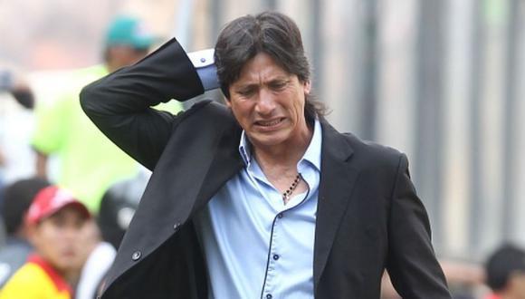 El DT argentino brindó declaraciones tras anunciar su renuncia del cargo como estratega de Universitario de Deportes. (Foto: GEC)