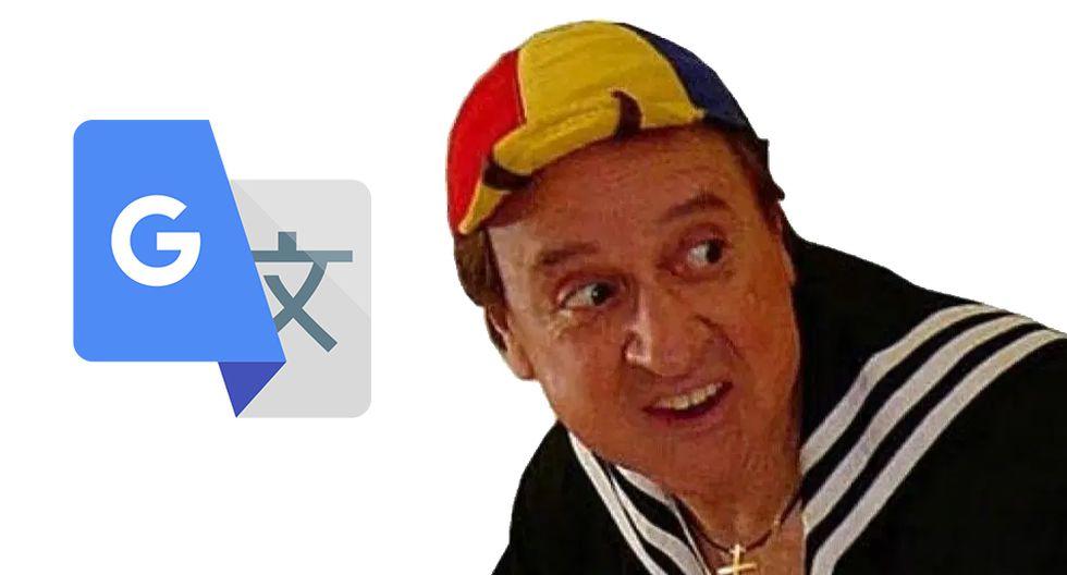 """¿No me simpatizas? Esto dice Google Translate de """"Quico"""" o """"Kiko"""", el personaje de Carlos Villagrán. (Foto: Google)"""