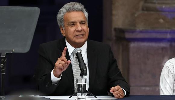 Moreno comentó que esta información la recibió del servicio de inteligencia ecuatoriano. (Foto: EFE)