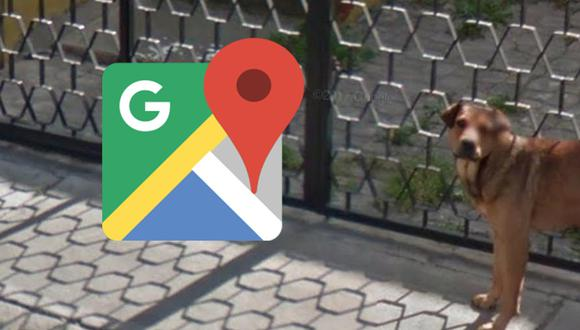 No creerás lo que hacía Firulais cuando el carro de Google Maps pasó su calle. Detalle se ha convertido en viral. (Foto: Google)