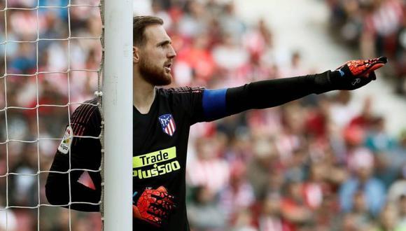 Jan Oblak es indiscutible en el arco del Atlético de Madrid (Foto: AFP)