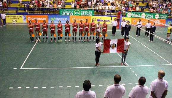 Vóley: Perú cayó ante Brasil y fue tercero en Sudamericano