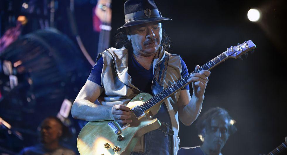 El guitarrista mexicano canceló las fechas europeas de su gira mundial Miraculous 2020.  (Foto: AFP)