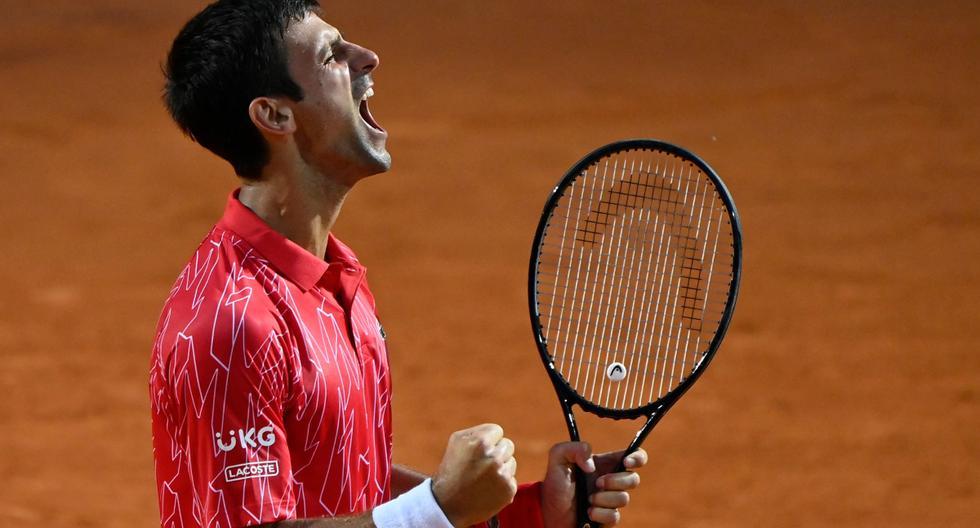 Polideportivo Novak Djokovic Vencio A Diego Schwartzman En La Final Del Masters De R Noticias El Comercio Peru