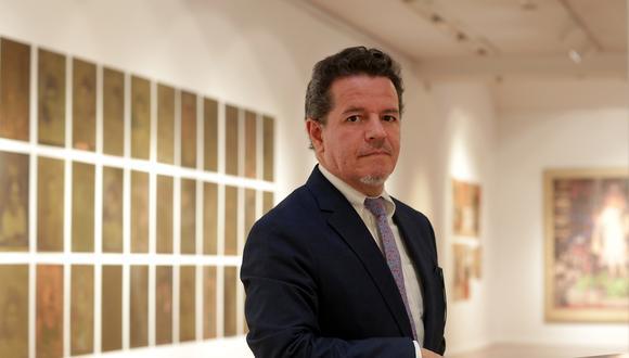 Alberto Servat es gerente cultural del ICPNA. (Foto: Nancy Chappell)