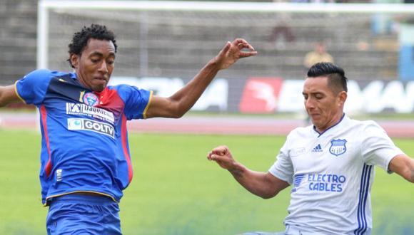 Olmedo venció 3-1 a Emelec por la fecha 12° de la Serie A de Ecuador. | Foto: Emelec