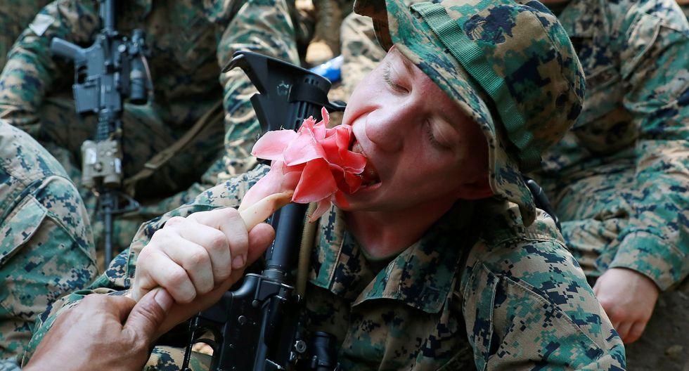 Imágenes del Cobra Gold en Tailandia, el ejercicio militar multinacional más grande de Asia donde Estados Unidos junto a otros 6 países. (Reuters)