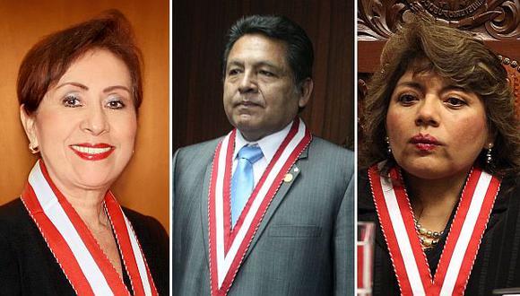 Fiscales que votaron por Ramos Heredia fueron favorecidas