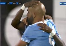 Sporting Cristal vs. Municipal: Riquelme anotó de cabeza el 1-1 rimense tras centro de Corozo | VIDEO