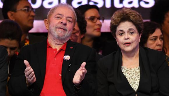Según JBS, las coimas alcanzaron los 50 millones de dólares en el caso de Lula y de 30 millones de dólares para Rousseff. (Foto: AFP)